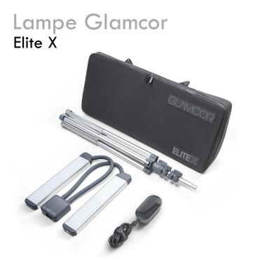 Lampe GLAMCOR elite X lampe LED deux têtes double éclairage extension de cils