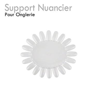 3 Supports Nuancier pour Onglerie charte couleur vernis semi-permanent rour capsules
