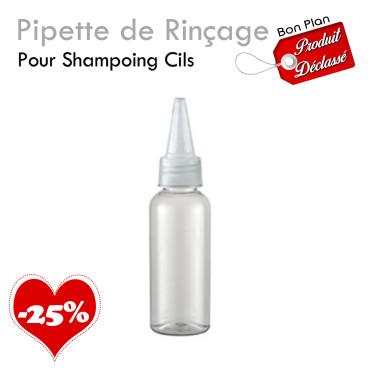 Pipette Rinçage Shampoing Cils bon plan promotion produit déclassé