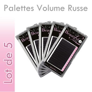 Palettes Volume Russe Extension de cils grossiste wholesale revendeurs