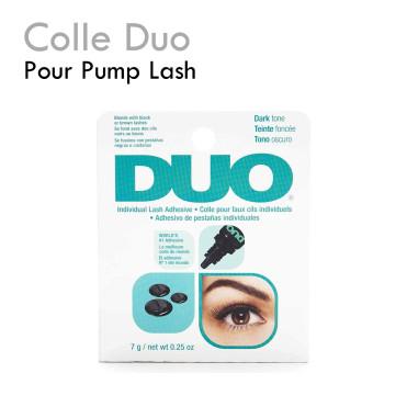 colle duo faux cils individuels pump lash facile pratique tenue parfaite noir brun