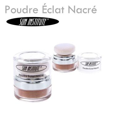 Poudre Éclat Nacré - Sun Institute blush maquillage pas cher lumière visage minéral